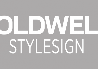 GW STYLESIGN white on grey
